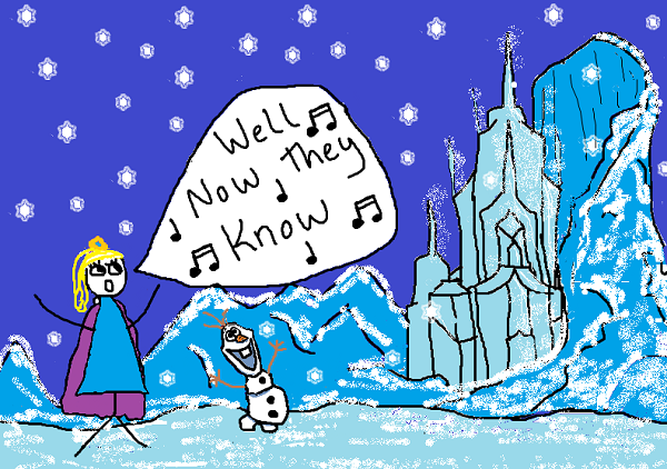 "Why Frozen's ""Let it Go"" was really written about me and chronic diarrhea"