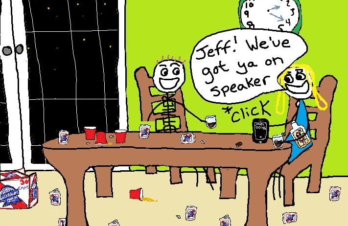 I called my dead sister's phone to hear her voicemail. Jeff answered.